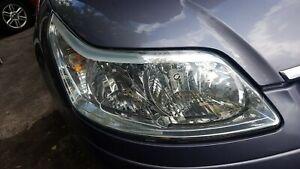 citroen c4 coupe d/s headlight 2005*breaking complete*