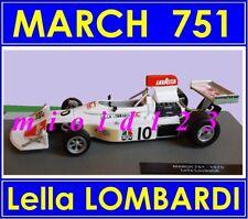 1/43 - MARCH 751 : Lella LOMBARDI - 1975 - Die-cast - FORMULA 1
