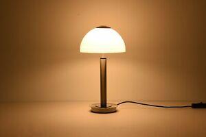 Single LED Table Lamp, On/Off Switch Polished Chrome Warm White 3000K