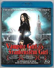 BLU-RAY DISC / VAMPIRE GIRL VS FRANKENSTEIN GIRL