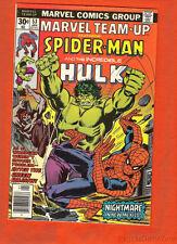 1977 Marvel Team-Up #53 Spider-Man & Incredible Hulk F 6.5 John Byrne X-Men 1st