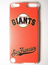 Mlb San Francisco Giants iPod Touch iTouch 5/6th Plastic One-Piece Slim Case