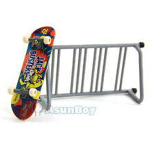 Tech Deck Fingerboard with Obstacle Column - Skate Park Ramp Parts Finger Board