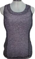 Lululemon Women's Gray Athletic Workout Yoga Running Tank Top! Size 6