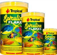 TROPICAL SPIRULINA FLAKES FOR ALL FRESHWATER & MARINE FISH