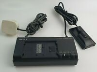 Sony AC-V35 AC Power Adaptor Charger for Camcorders/Battery for NP-55/66/77/98