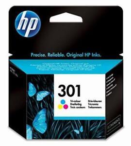 Genuine HP 301 Tri-Color Original Ink Cartridge Replace