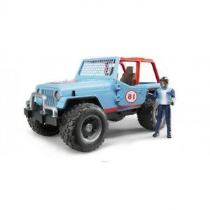 Bruder Jeep Wrangler Blue 02541