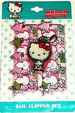 "@@  ""HELLO KITTY"" - PEDICURE - 2 SEPARATEURS D'ORTEILS & COUPE-ONGLES - NEUF  @@"