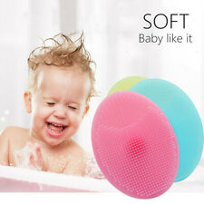 Face Brush Set Silicone Cleanser Fecial Skin Cleaner Beauty Massager 3 Pcs UK