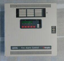 Simplex 4006 Fire Alarm Control Panel