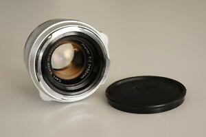 Carl Zeiss Planar 50mm 1:2 für Contarex