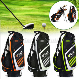 PGM Top Divider 14 Way Golf Club Stand Bag Carry With Dual Strap 3 Colors
