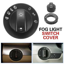 Car Headlight Fog Light Lamp Switch Repair Kit Cover Knob For Audi A4 S4 8E B6