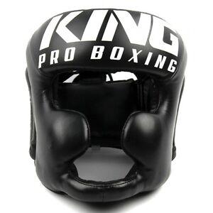 "King- Kopfschutz / Headgear ""KPB/HG"". Größe: M & L. Training. Boxen. Muay Thai."