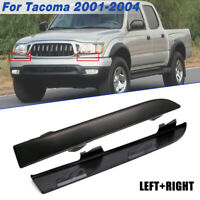 Front Bumper Grille Headlight Lamp Filler Trim for Toyota Tacoma 2001-2004