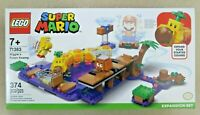 LEGO Super Mario Wiggler's Poison Swamp (71383) Expansion Set 374 Pcs New