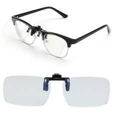 Anti Blue Ray Clip-on Clip Lens Computer Phone TV Game Eyeglasses Vision Care