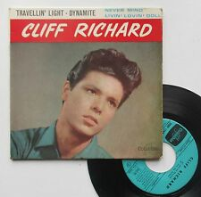 "Vinyle 45T Cliff Richard  ""Travellin' light"""