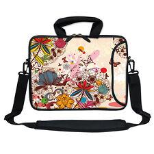 """Neoprene Laptop Bag Case w. Pocket Shoulder Strap to Fit Chromebook 11.6"""" 3010"""