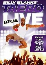 BILLY BLANKS    TAEBO     EXTREME LIVE     DVD      BRAND NEW     FACTORY SEALED
