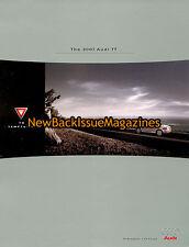 2001 Audi TT Dealer Brochure 9/11,2001 Audi TT,September 2011,NEW