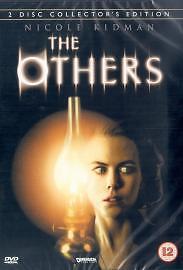 The Others DVD (2002) Nicole Kidman, Amenábar (DIR) cert 12 2 discs Great Value