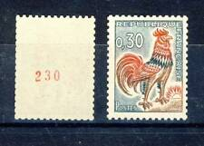 STAMP / TIMBRE FRANCE NEUF LUXE °° 1331Ab TYPE COQ N° AU VERSO