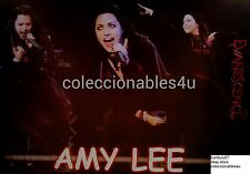 POSTER  EVANESCENCE amy lee   11x16 singin