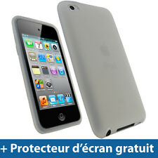 Clair Silicone Etui pour Apple iPod Touch 4G 4ème iTouch Housse Coque Case Cover