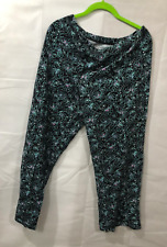 Axcess Women's Size Medium Pants 80% Cotton 20% Polyester