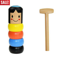 Immortal Daruma by Magic Stubborn wood Man Funny Wooden Magic Toy Two type