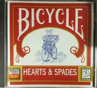 Bicycle Hearts and Spades PC CD-ROM