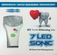 DIY Teeth Whitening Kits 7 LED 15 Treatemnt Sonic Massage Teeth Whitening Kit