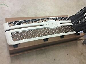 2012-2013 Chevrolet Olympic White Silverado Front Grille without Emblem OEM