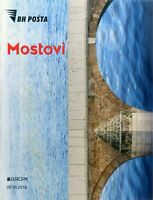 BOSNIA & HERZEGOVINA / 2018, EUROPA CEPT (BRIDGES), (BOOKLET) MNH