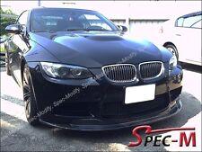 2008-2013 E90 E92 E93 BMW M3 E STYLE CARBON FIBER FRONT LIP SPOILER CF