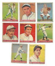 New listing 1933 Goudey Baseball 8 Cards Philadelphia Philies #21,28,38,115,132,136,170,210