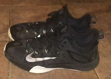 the latest 20136 4b81d Nike Zoom HyperRev 2014 Mens 8 Basketball Shoe Black Metallic Silver  705370-001