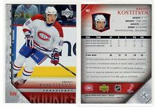 1X ANDREI KOSTITSYN 2005 06 Upper Deck #482 RC Rookie YOUNG GUNS Lots Available