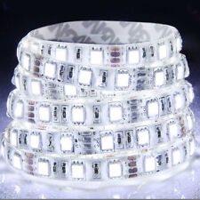 5M Cool White 5050 SMD 300 LED Strip light flexible  60led/m WATERPROOF 12V