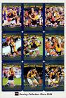 2010 AFL Teamcoach Trading Card Prize Card Team Set West Coast (12)