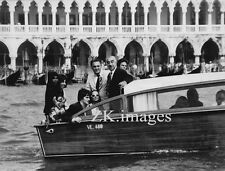 FELLINI Donyale LUNA Venise SATYRICON H. KELLER CAPUCINE Bateau Photo 1969