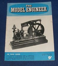 THE MODEL ENGINEER 17TH JUNE 1954 VOLUME 110 NUMBER 2770 - CAST IRON STICKS