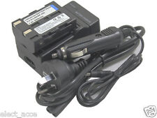 Battery + Charger for Pentax D-li50 Dli50 D-l150 K10 K10D K20D GP Grand Prix New