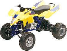 SUZUKI LTR450 YELLOW ATV NEW-RAY DIE-CAST REPLICA TOY  1:12 43393