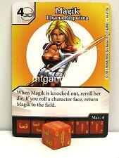 Marvel Dice Masters - 3x #044 Magik Illyana Rasputina - The Uncanny X-Men