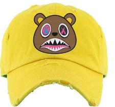 "Baws Yellow ""Crazy Baws"" Strapback Hat"