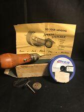 Vintage Speedy Stitcher Sewing Awl In Original Box