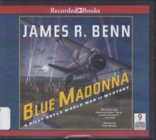 BLUE MADONNA by JAMES R. BENN ~UNABRIDGED CD AUDIOBOOK